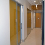 NxtWall movable wall systems healthcare installation
