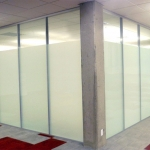 University full height glass walls - Flex Series by NxtWall
