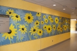 Fusion Custom - LuxCore - John Hopkins Hospital Sunflower Installation