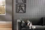 MIRROFLEX STRUCTURES - Square 5 - Argent Silver - Wall Panel Installation