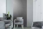 MIRROFLEX STRUCTURES - Strike - Argent Silver - Waiting Room/Lobby Installation