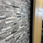 Feature wall detail image Chicago wall showroom