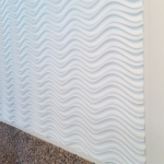 Flex wall system liquid designer wall panels