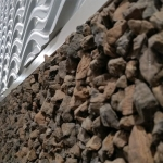Rock wall detail Chicago Nxtwall showroom
