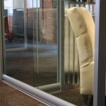 Chicago showroom View series glass wall