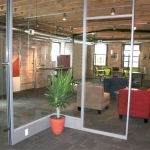 NxtWall glass office walls with power