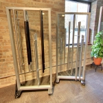 Nxtwall ladderpull door hardware displays
