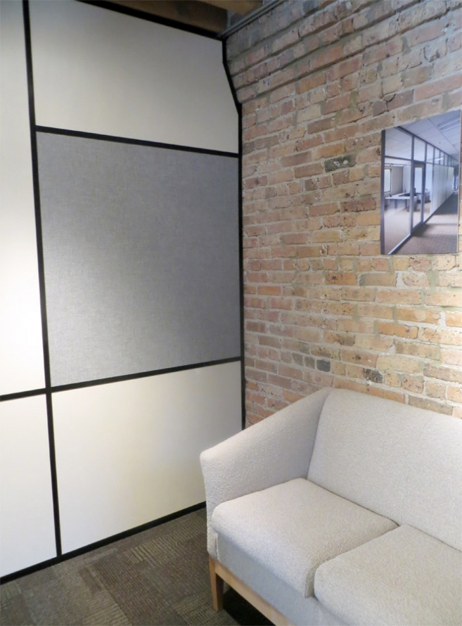 sustainable demountable removable office walls partition systems