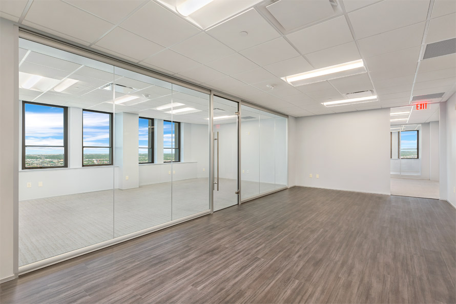 Glass wall system - View Series by NxtWall