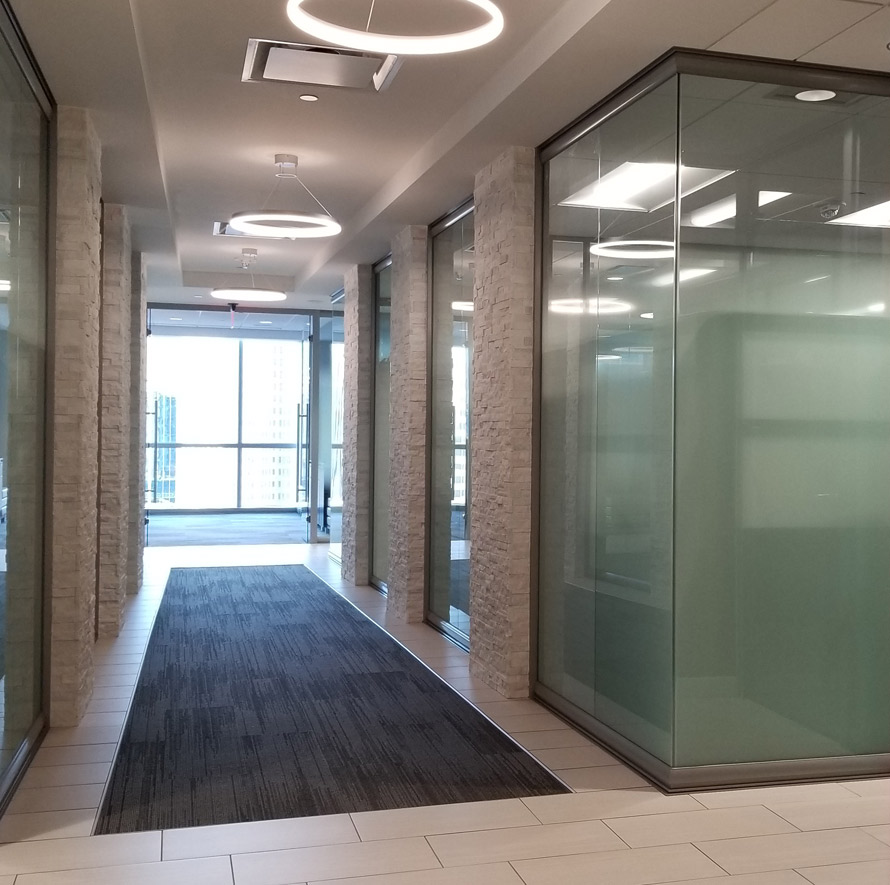 Glass private offices - NxtWall View Series