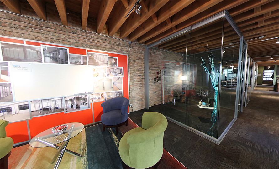NxtWall Architectural Wall System Chicago Showroom 2017