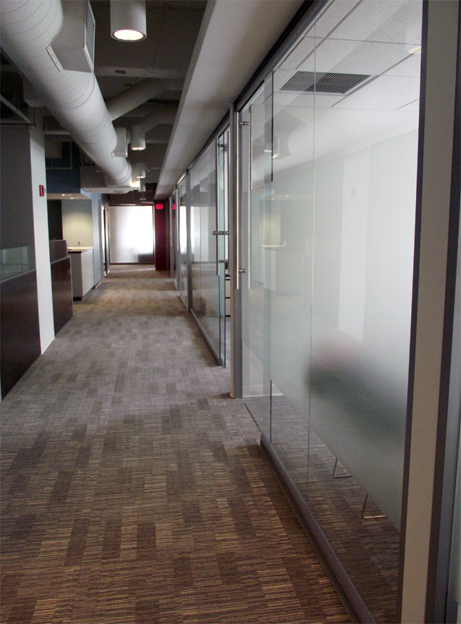 NxtWall View glass office front