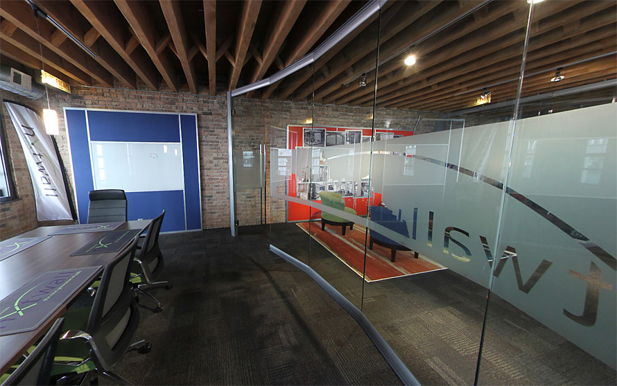View Series All Glass Conference Room