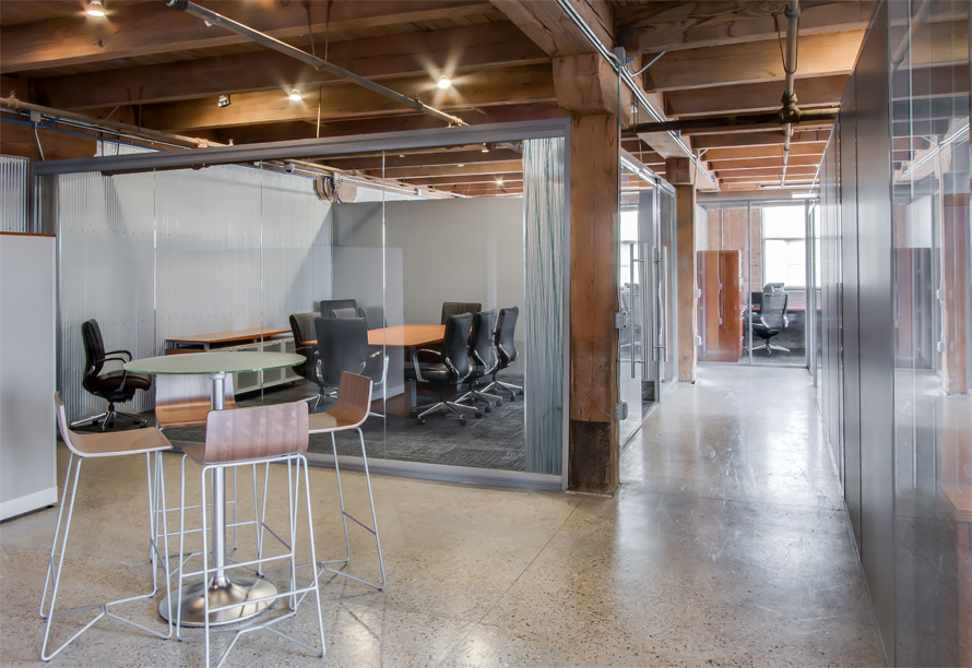 View Series glass conference room - FNB installation