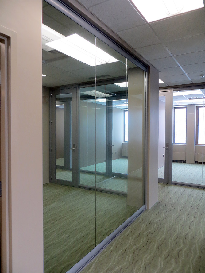 Administration glass offices View series