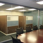 Clear Glass Conference Room Walls, FNB