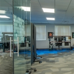 Conference Room with Sliding Glass Door View Series