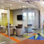 Curved glass training room - View Series