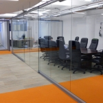 Elegant Glass Wall Conference Room - Chicago, IL