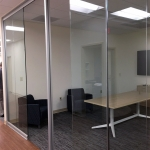 Full height glass meeting room - View Series