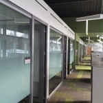 Glass Offices University Bio-Engineering Installation - View Series