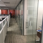 Clear tempered glass offices - View Series