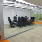 Movable Walls Chicago Minimal Seam Glass Conference Room