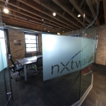 NxtWall Curved Glass Conference Room - View Series