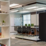 View Series Conference Room with Black Frame