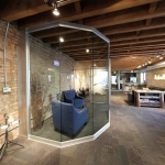 Curved Glass Movable Wall (NxtWall View Series)