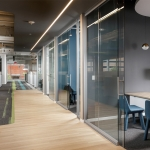 View Series glass offices with sliding glass doors technology industry