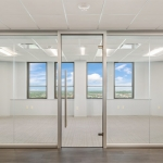 View Series glass walls with anodized aluminum frame