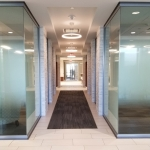 View Series glass offices integrated with existing architecture