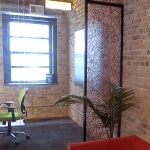 Glass Conference Room with field-fit 3form Panels - Chicago Nxtwall Showroom