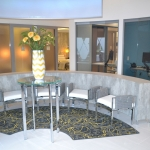 Curved glass wall system - View series