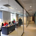 Full height glass office fronts - NxtWall's View Series