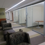 Full height glass movable office walls