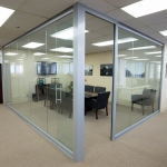 Glass wall Conference room View series