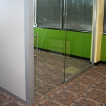 Sliding glass door (internally mounted)