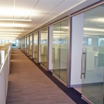 Glass office walls Central Office NAIC