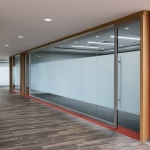 View series glass conference room Law firm offices installation