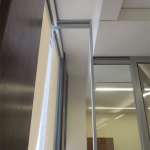 Field-fit flexible wall system - View series glass walls