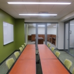View series glass walls at University conference room