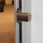 View series optional European door hardware