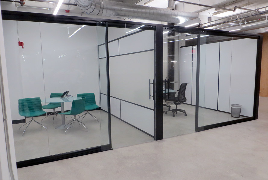 View glass office wall system for Office doors with glass panels