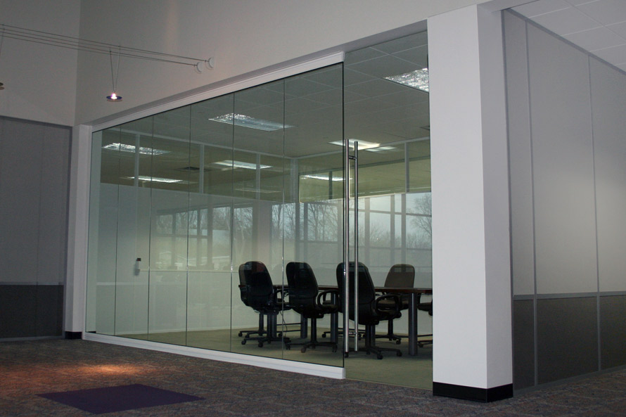 View series glass conference room