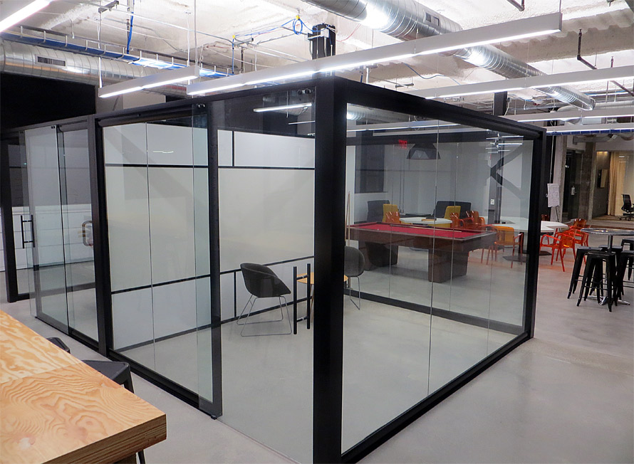 Sustainable Demountable Removable Office Wall Partition Systems