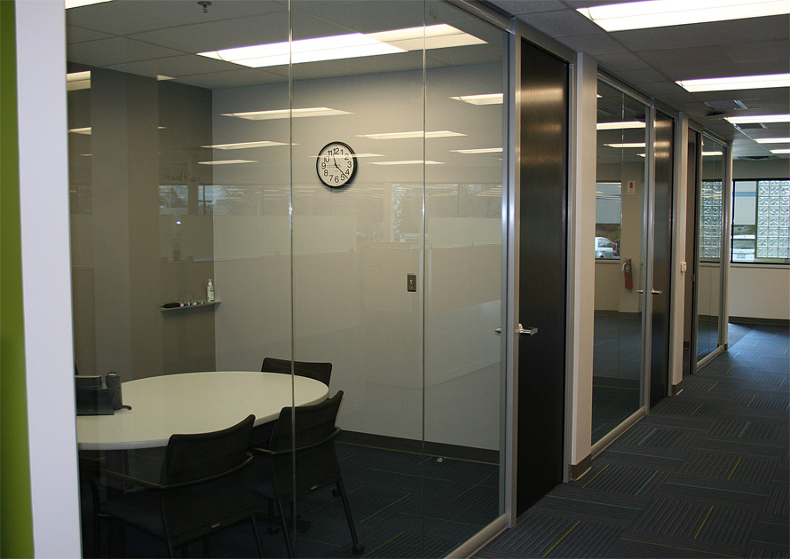 Nxtwall glass fronts glass wall panels and glass butt for Office doors with glass panels
