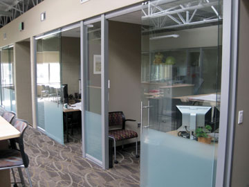 modular glass wall offices