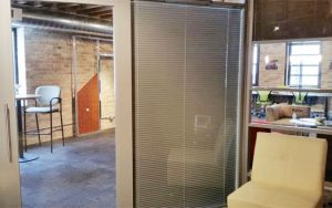 Enclosed Blinds Offer Privacy And Light Control In Glass Office Walls And  Doors